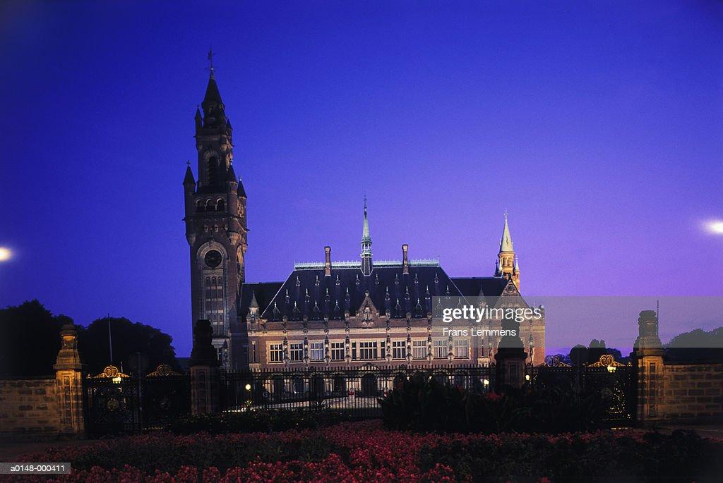 Peace Palace at Night
