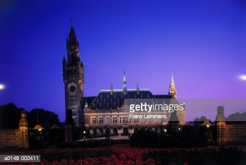 Peace Palace at Night