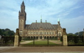 Peace Palace in the Hague which houses the International Court of Justice early 20th century