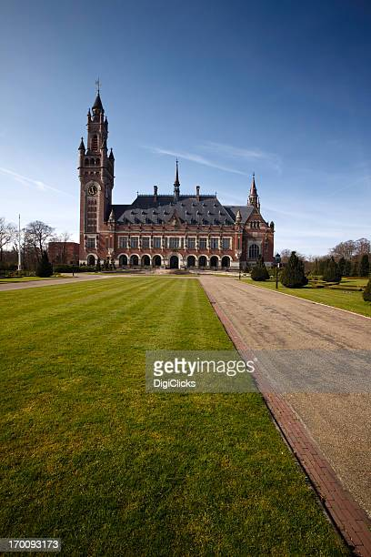 Peace Palace (United Nations Court of Justice in The Hague)
