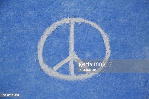 Peace Sign Drawing : Stock Photo