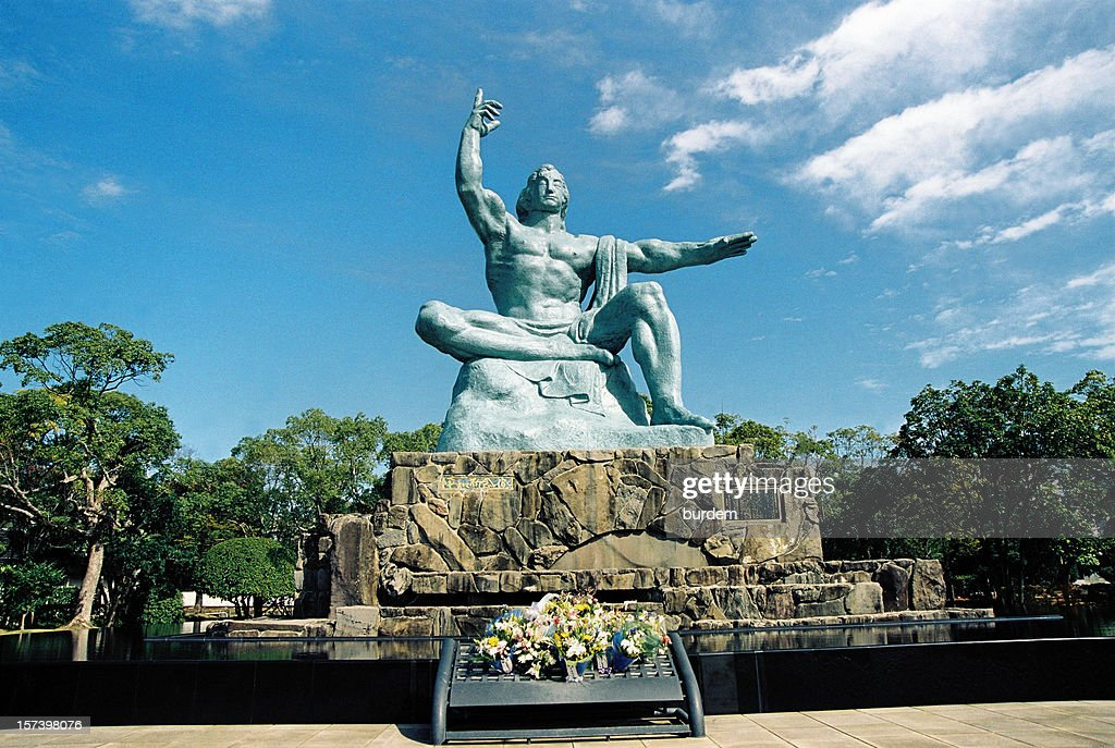 Peace Statue, Nagasaki,Japan