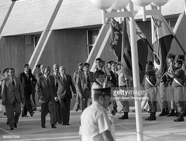 Peace talks were held at BenGurion University of the Negev led by Prime Minister of Israel Menachem Begin and Egyptian President Muhammad Anwar El...