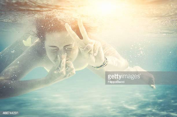 Peace Unterwasser