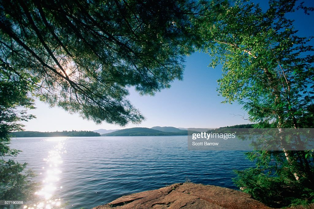 Peaceful lake : Stock Photo