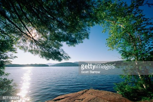 Peaceful lake : Stock-Foto