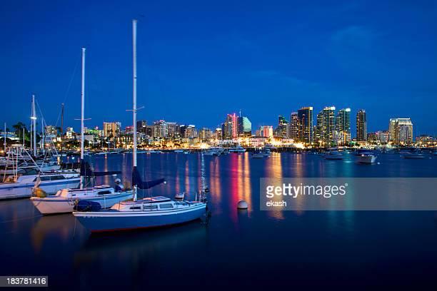 Peaceful San Diego Harbor