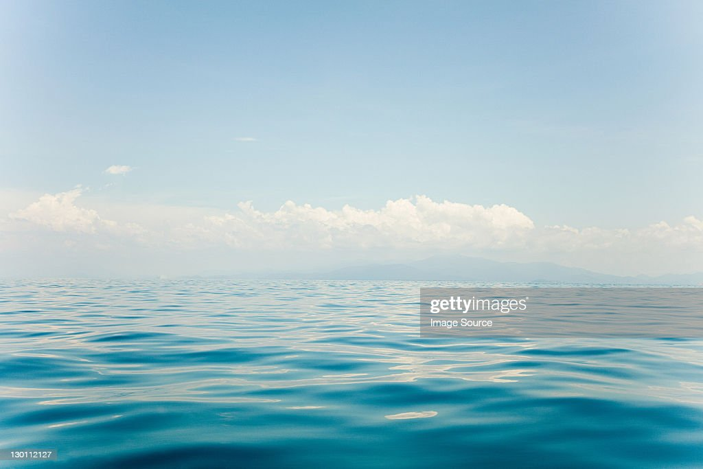 Peaceful water of South China Sea, Perhentian Islands, Malaysia : Stock Photo