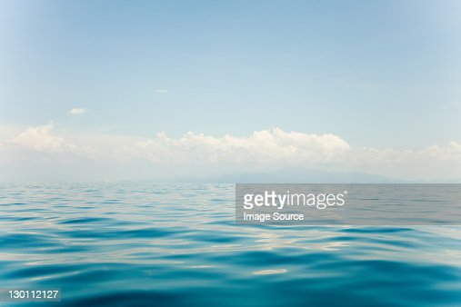 Peaceful water of South China Sea, Perhentian Islands, Malaysia : Bildbanksbilder