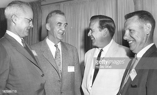 JUN 25 1956 Peacetime uses for atomic energy are being explored in a twoday Denver conference at the Cosmopolitan hotel in a session of uranium...