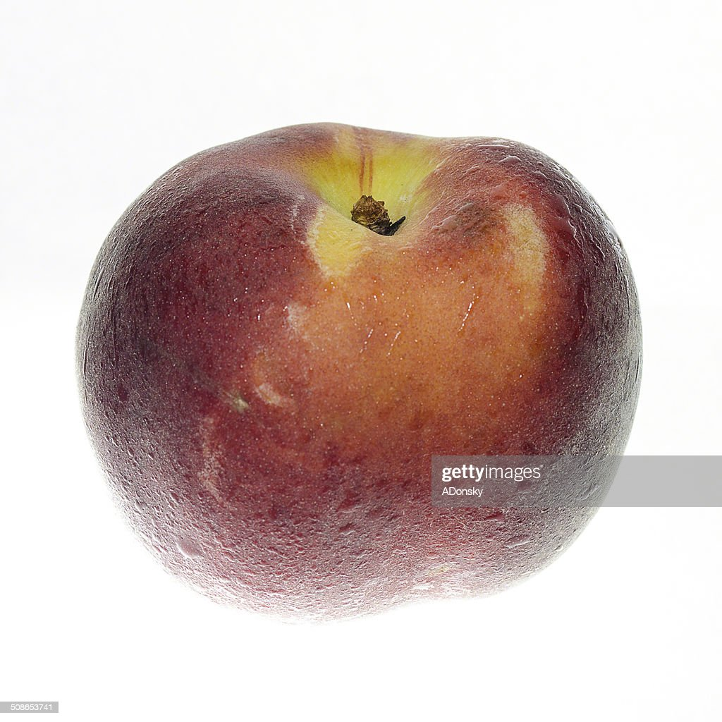 peach close-up : Stock Photo