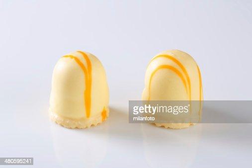 peach marshmallows : Stock Photo