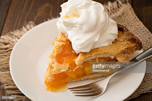 Peach Pie And Cream