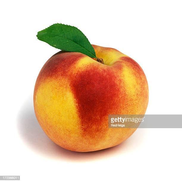 Peach solo mit Blatt