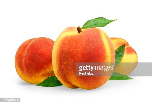 Peach three with Leafs