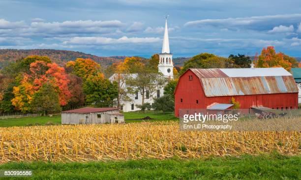 Peacham farm in Autumn