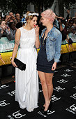Peaches Geldof and Pixie Geldof attend the UK premiere of 'Bruno' at Empire Leicester Square on June 17 2009 in London England