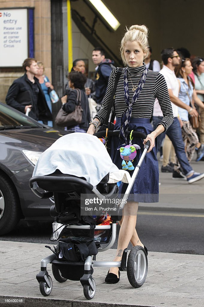 Peaches Geldof, Thomas Cohen and Son Astala Sightings In London - August 16th, 2012