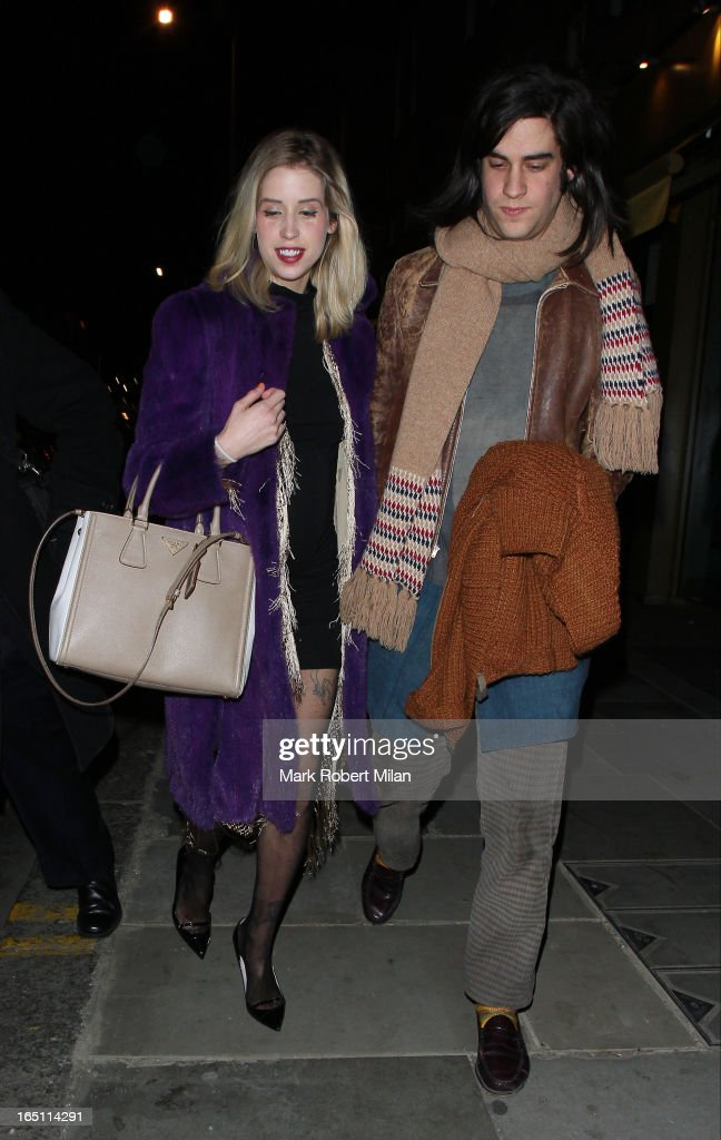 <a gi-track='captionPersonalityLinkClicked' href=/galleries/search?phrase=Peaches+Geldof&family=editorial&specificpeople=211378 ng-click='$event.stopPropagation()'>Peaches Geldof</a> and Thomas Cohen at JuJu restaurant on March 30, 2013 in London, England.