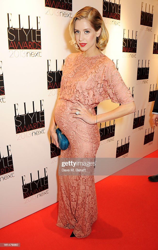 Peaches Geldof arrives at the Elle Style Awards at The Savoy Hotel on February 11, 2013 in London, England.