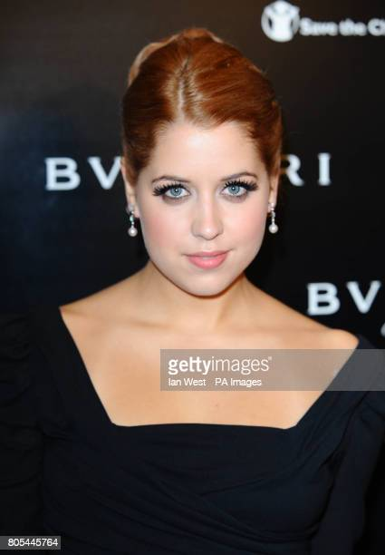 Peaches Geldof arrives at the Vogue/Bulgari 125th Anniversary Party supporting Save the Children at the Saatchi Gallery in LondonPicture date Tuesday...