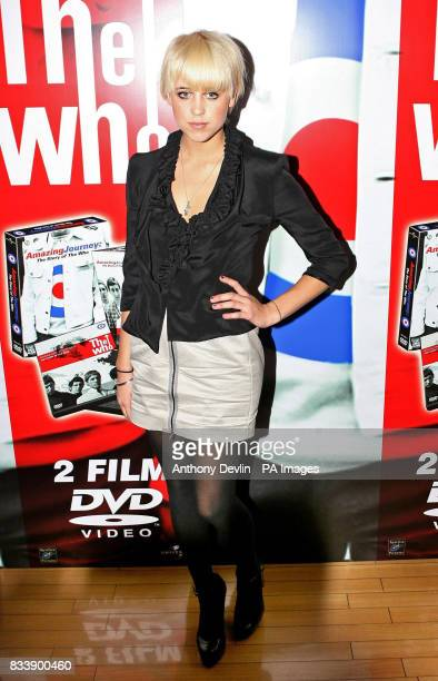 Peaches Geldof arrives for the European Premiere and DVD Launch of Amazing Journey The Story of The Who at the Odeon cinema on Kensington High Street...