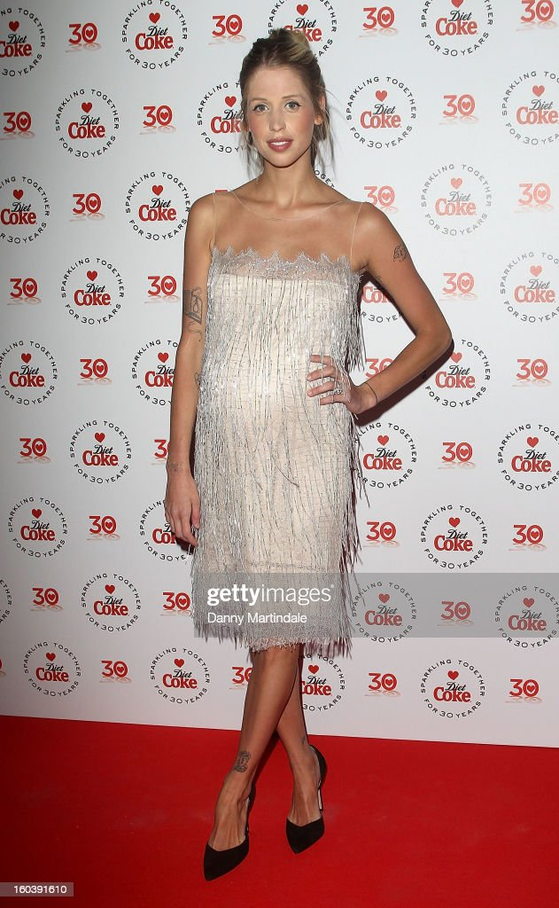 <a gi-track='captionPersonalityLinkClicked' href=/galleries/search?phrase=Peaches+Geldof&family=editorial&specificpeople=211378 ng-click='$event.stopPropagation()'>Peaches Geldof</a> attends a party hosted by Diet Coke at Sketch on January 30, 2013 in London, England.