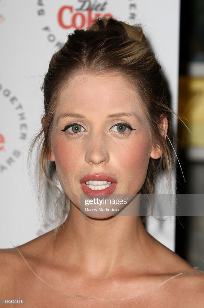 Peaches Geldof attends a party hosted by Diet Coke at Sketch on January 30, 2013 in London, England.