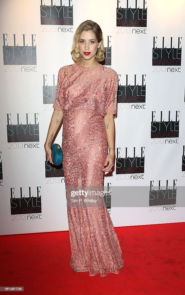 <a gi-track='captionPersonalityLinkClicked' href=/galleries/search?phrase=Peaches+Geldof&family=editorial&specificpeople=211378 ng-click='$event.stopPropagation()'>Peaches Geldof</a> attends the Elle Style Awards at Savoy Hotel on February 11, 2013 in London, England.