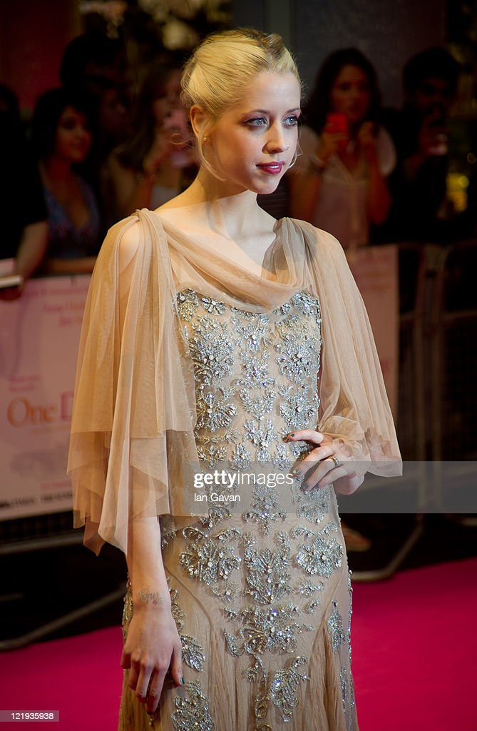 <a gi-track='captionPersonalityLinkClicked' href=/galleries/search?phrase=Peaches+Geldof&family=editorial&specificpeople=211378 ng-click='$event.stopPropagation()'>Peaches Geldof</a> attends the European premiere of 'One Day' at Vue Westfield on August 23, 2011 in London, England.