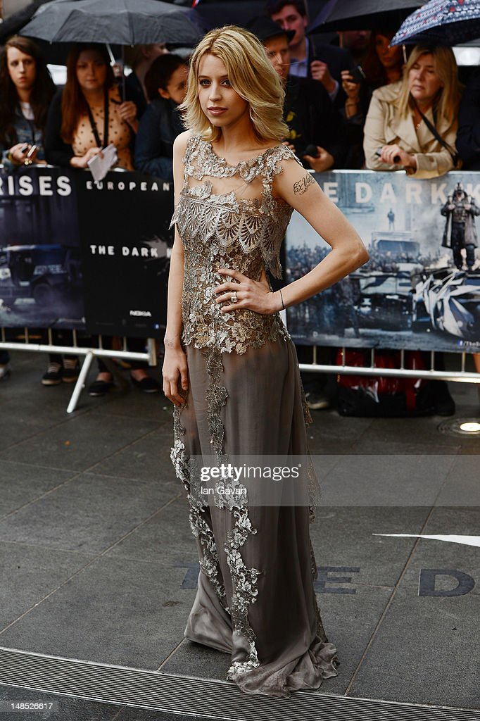 <a gi-track='captionPersonalityLinkClicked' href=/galleries/search?phrase=Peaches+Geldof&family=editorial&specificpeople=211378 ng-click='$event.stopPropagation()'>Peaches Geldof</a> attends the European premiere of 'The Dark Knight Rises' at Odeon Leicester Square on July 18, 2012 in London, England.