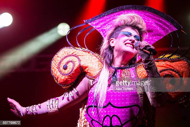 Peaches performs in concert during the second day of Primavera Sound 2016 on June 2 2016 in Barcelona Spain