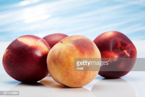 Peaches : Stockfoto