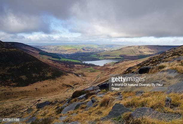 Peak District moorland