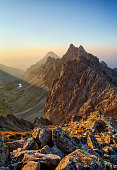 Peak in rocky mountain - Tatra