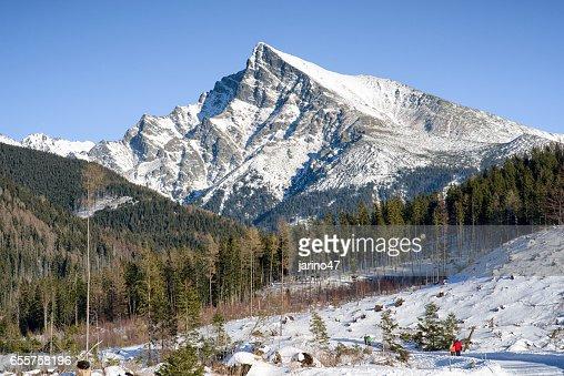 Peak Krivan in High Tatras, Slovakia : Stock Photo