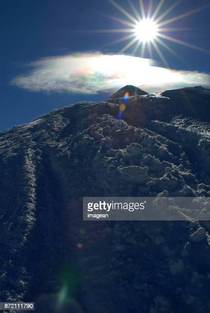 Peak of Mont Blanc