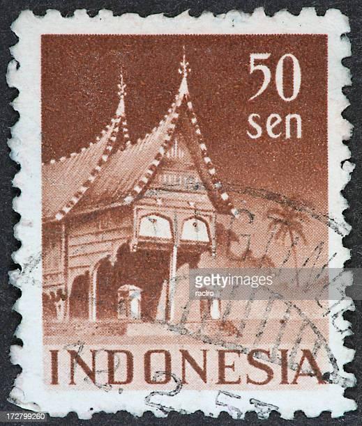 Picos Indonésia Arquitetura