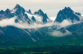 Peaks of Alaska Range