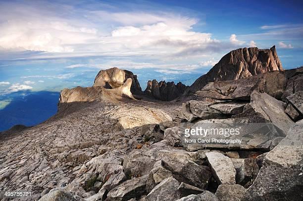 Peaks of Mt. Kinabalu National Park Sabah Borneo