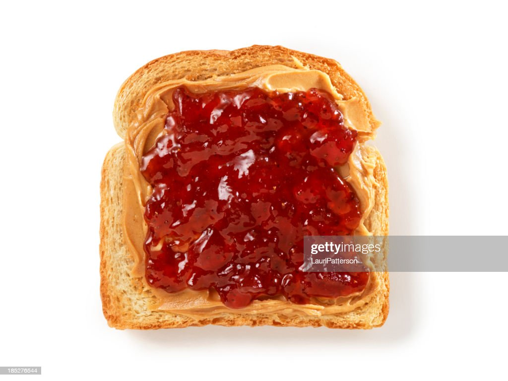 Peanut Butter and Jam on Toast