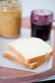 Peanut butter and jelly sandwich ingredients