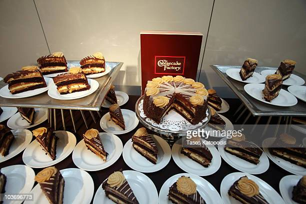 Peanut Butter Cheesecake at The Cheesecake Factory presents American Idol Lee DeWyze to kick off Feeding America's Hunger Action Month at James Hotel...