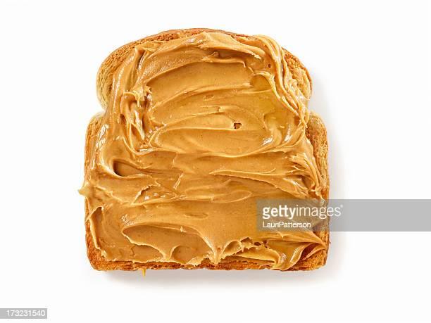 Peanut Butter auf Toast