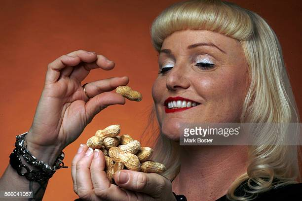 Peanuts for a Health cover story on food allergies in the LA Times studio July 14 2009
