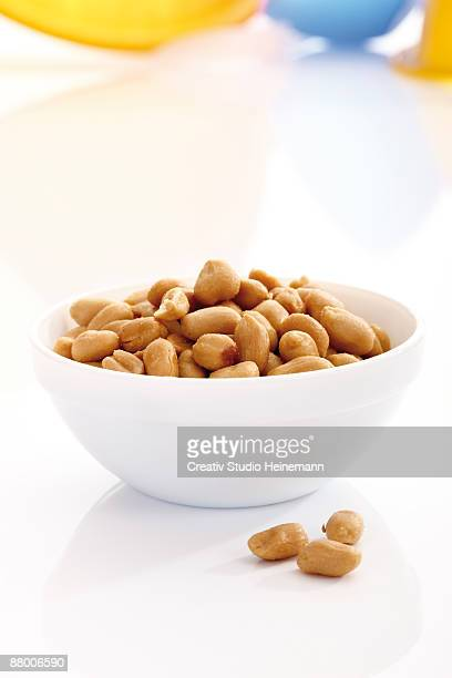 Peanuts in bowl, close-up