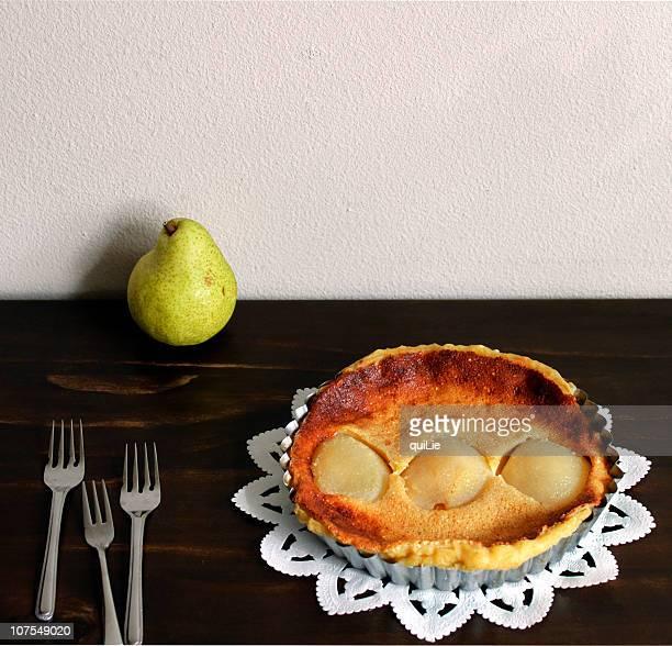 Pear flan