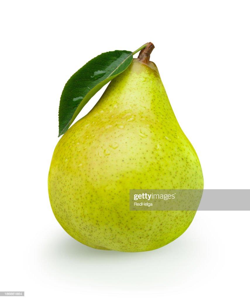 Pear green with Leaf