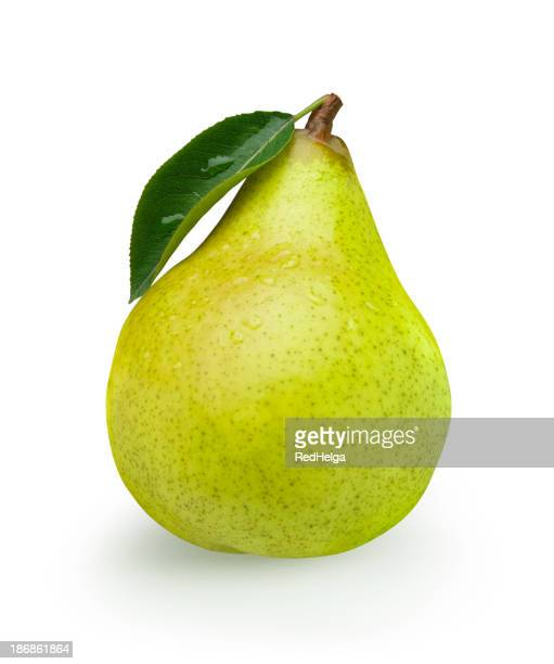 Pear green with Leaf