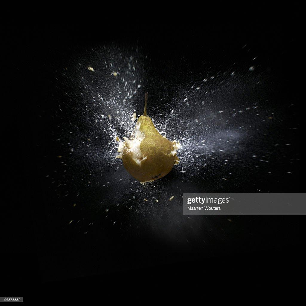 pear shootout 02 def : Stock Photo